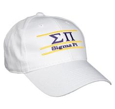 6948d6755c6 Sigma Pi Greek Letter Fraternity Snapback Bar Hats by The Game