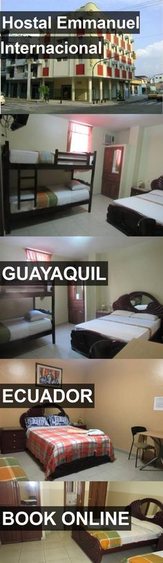 Hotel Hostal Emmanuel Internacional in Guayaquil, Ecuador. For more information, photos, reviews and best prices please follow the link. #Ecuador #Guayaquil #travel #vacation #hotel