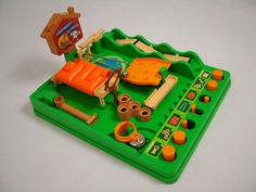 Screwball Scramble. I used to play with this at my cousins I desperately wanted my mum to buy me one. But she never ; (