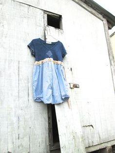 funky boho dress / eco dress / upcycled clothing / by CreoleSha, $67.00