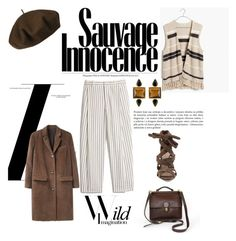 """""""Untitled #130"""" by myriamsarah on Polyvore featuring Betmar, Madewell, Schutz, Acne Studios and George & Laurel"""