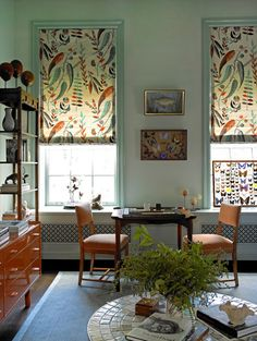 West Village Townhouse - eclectic - family room - new york - Amy Lau Design