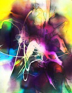 Original Batik Art Painting on Silk, Abstract by Musa | asiansecrets - Art on ArtFire