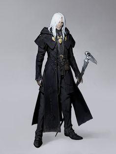 """Wizard"" by Work Man Fantasy Wizard, Fantasy Heroes, Fantasy Male, Fantasy Rpg, Medieval Fantasy, Fantasy Artwork, Dark Wizard, Man Character, Fantasy Character Design"