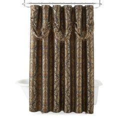 jcp   Royal Velvet® Madrid Shower Curtain
