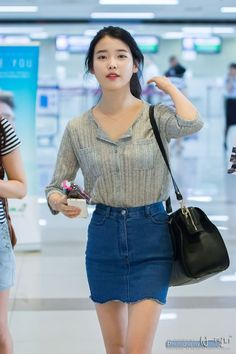 I like her eyebrows so much Iu Fashion, Look Fashion, Korean Fashion, Korean Girl, Asian Girl, All Jeans, Famous Women, Asian Style, Ulzzang Girl