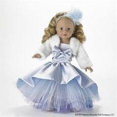 "NEW! MADAME ALEXANDER BLUE SHIMMER PRINCESS 18"" PLAY DOLL 70195"