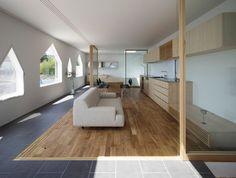 Suppose design office. Distribución de espacios con mamparas.