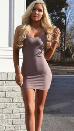 t c Beautiful Women Pictures, Gorgeous Women, Tight Dresses, Sexy Dresses, Classy Women, Sexy Women, Sexy Outfits, Fashion Outfits, Dressed To Kill