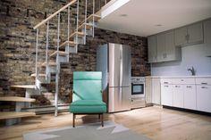 Avondale Apartments For Rent Apartment Sites, Loft Apartments, Chicago Apartment, Loft Spaces, Lofted Bedroom, Vintage Sink, Open Staircase, Hardwood Floors, Flooring