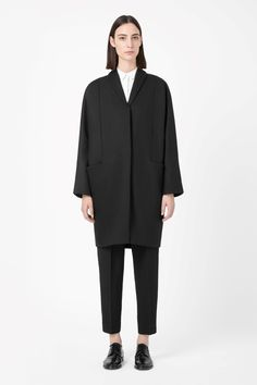 COS — SHAWL COLLAR COAT