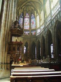 St. Vitus Cathedral , Prague