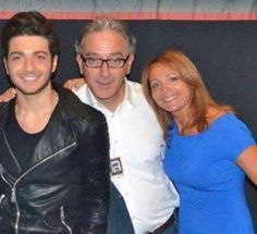 Gianluca with his lovely parents Eleonora & Ercole Ginoble RCMH. Credit: Ercole Ginoble
