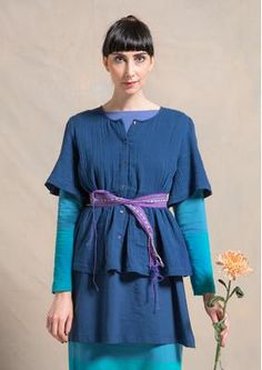 Bluse aus Öko-Baumwolle 70607-60.tif