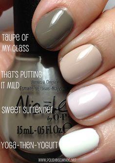 Nicole by OPI Ombre Opi Nail Polish, Opi Nails, Nail Polishes, Nicole By Opi, Nail Candy, Easy Nail Art, Nail Tutorials, Perfect Nails, Nail Tips