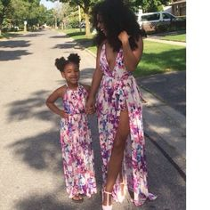 Cute mom and daughter matching dresses. pinterest: b_ox