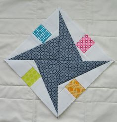 (7) Name: 'Quilting : Rocky Road Star Template Pattern