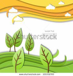 Abstract modern creative blue vector editable business website design with flower spring pattern textures by Vectorart, via Shutterstock