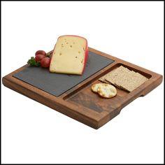 WoodardandCharles.com - Acacia Wood Slate Cheese Board, 12-Inch, $44.99 (http://www.woodardandcharles.com/acacia-wood-slate-cheese-board-12-inch/)