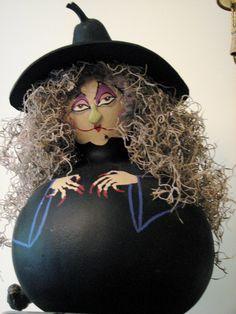 My witch gourds