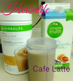 My new favorite protein shake! So yummy and cheaper than a iced coffee! Only about $1.50 a serving great as a meal replacer! Just add ice, 2 cups of almond milk (I like vanilla but has more calories), and 2 scoops of Cafe Latte formula 1 protein.  #herbalife ask me how to get some!