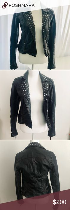 762d22dc885 All Saints Studded Biker Jacket All Saints