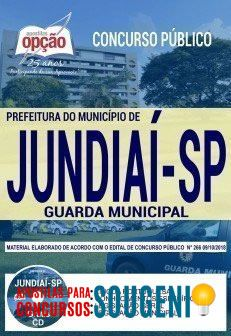 Apostila Guarda Municipal De Jundiai Sp 5 390 Motivos Para Comprar