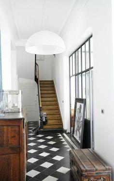 couloir noir et blanc 5 ides pour crer la surprise blog dcoration