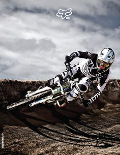 ♂ out door adventure biker Huge Whips, Tons of Style, and Fox Racing's 2013 Downhill