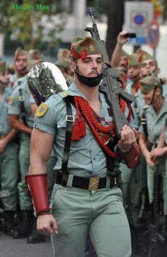 Spanish Foreign Legion.   Gay Places.  #gay, #hotmen,