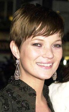 Kate Moss short hair