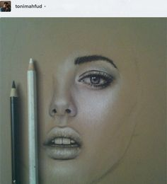 USING WHITE COLORED PENCILS FOR HIGHLIGHTS