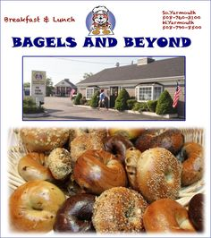 own bagels on Cape Cod for over 15 years! All of the bagels, muffins ...