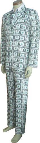 MEDIUM-Mens-US-Dollars-Money-Pimp-Suit-Costume-Party-Outfit-Fancy-Suit-Fashion
