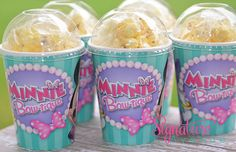 Minnie Bowtique Birthday Party Cups-Popcorn Box-Set of 8 on Etsy, $10.40