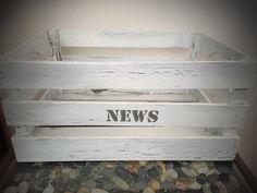 Lehtilaatikko krakelointimaalaus Tray, Home Decor, Homemade Home Decor, Decoration Home, Board, Interior Decorating