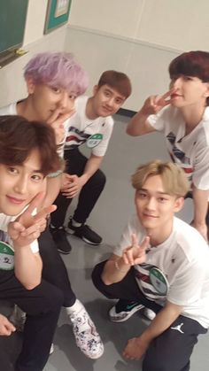 exo on knowing bros 2017 Baekhyun Chanyeol, Park Chanyeol, Exo Exo, Exo Ot12, Kaisoo, Chanbaek, K Pop, Nct, Luhan And Kris