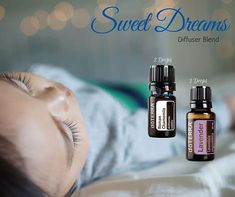 Combine these two in your diffuser for a night full of sweet dreams. #essentialoils #diffuserblend