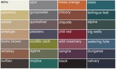 Popular Fall Wedding Color Options:: ocotillo cacti, chili red, wild rosemary