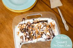 EASY No Bake Snicker