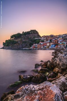 This is my Greece | The harbour of Parga a town located in the northwestern part of the regional unit of Preveza Epirus
