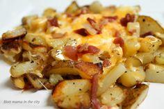 Cheesy Potatoes with Egg recipe