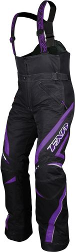 FXR Racing - Snowmobile Sled Gear - Wmn's Team Pant - Blk/Purp