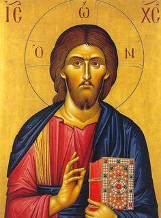 Hagia Sophia - Icons of Christ Christ Pantocrator, Holy Quotes, Byzantine Icons, Hagia Sophia, Art Icon, Orthodox Icons, Religious Art, Holy Spirit, Jesus Christ