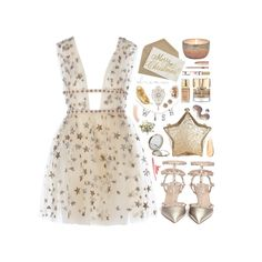"""#122 Estrellas"" by haunteds ❤ liked on Polyvore featuring Dot & Bo, Valentino, Henri Bendel, Topshop, Givenchy, Smith & Cult, Shine by S.H.O, Elizabeth Arden, Estée Lauder and Mimí"