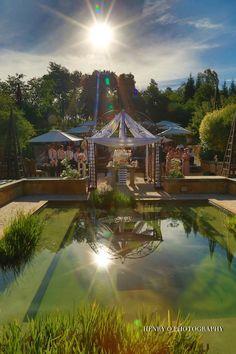 The Spectacular Sunset Wedding of Larissa & Juan Sunset Wedding, Banquet, Wedding Styles, Weddings, Mansions, House Styles, Photography, Fashion, Moda