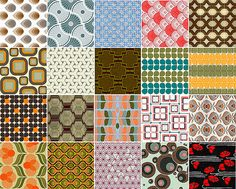 500+ Free Funky Retro Backgrounds and Patterns