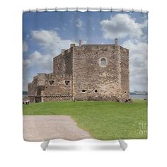Blackness Castle , Scotland Shower Curtain by David Rankin Outlander Gifts, Wentworth Prison, Outlander Tv Series, Fort William, Mary Queen Of Scots, Scotland Castles, Inverness, Films, David