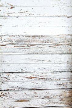 Bright White Wood 5x7 *2*