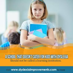 Sometimes, these things are obvious! I hope things really change a lot in the next couple of years with so many parents starting to be more vocal, and so many teachers starting to be more aware. #Motivation #Learning #Kids #Dyslexia #Health